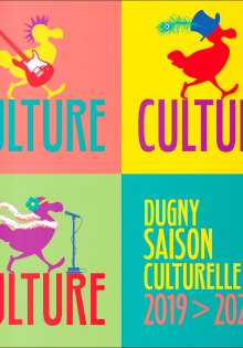 Couverture du guide culturel 2019-2020